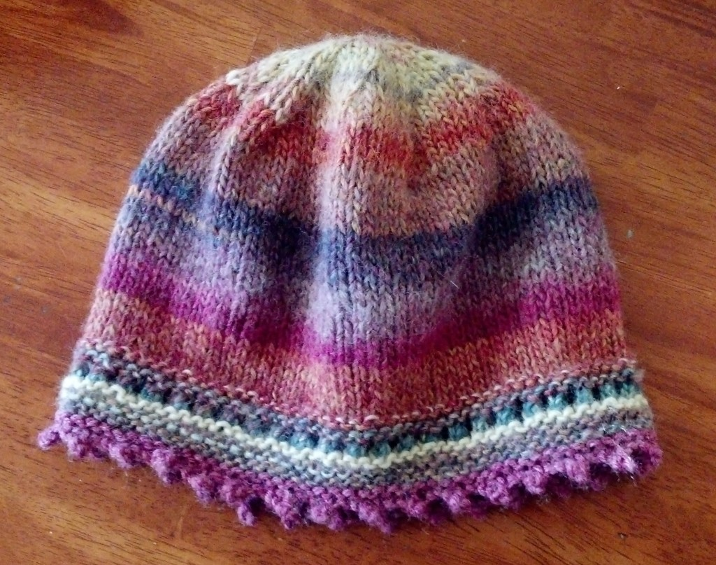 colorfull knitted Beanie