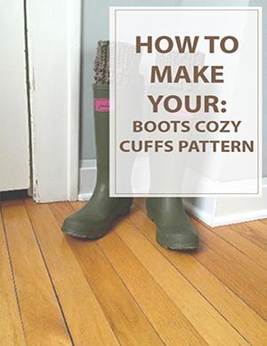 Boot Cuffs Cozy Kitting Pattern