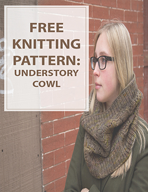 Cowl Knitting Pattern Understory