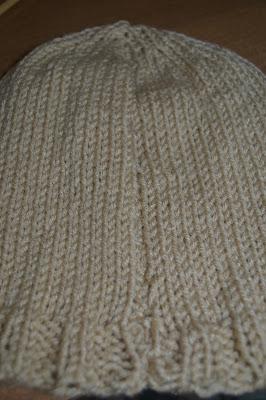 Knit Beanie Basic Mens