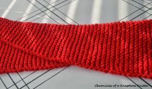Infinity Scarf Knitting Pattern Part 3