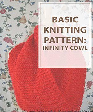 Infinity Scarf Knitting Pattern