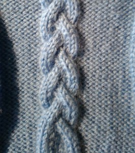 Triple Knitting Braid