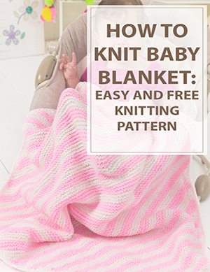 Baby Blanket Knitting Pattern Peppermint Stripes