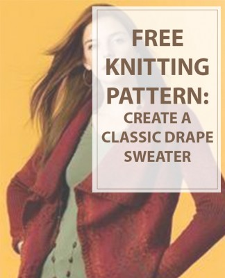 Sweater Patterns for Classic Drape