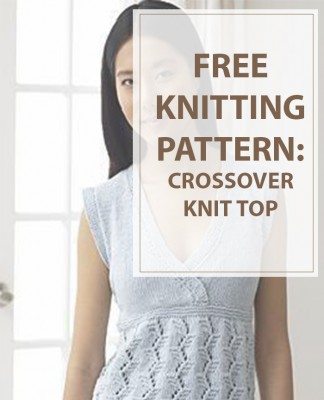 Sweater Knitting Patterns Crossover Top