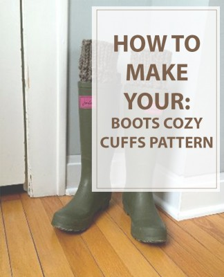 Boot Cuffs Cozy Kitting Pattern