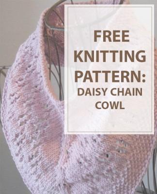 Cowl Knitting Pattern Daisy Chain