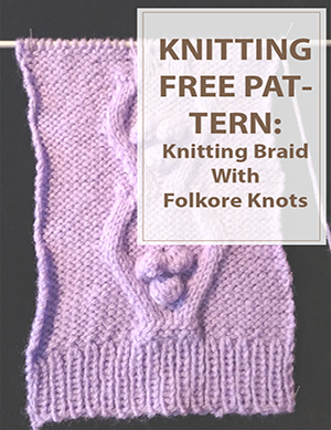 Folkore Braid With Knots