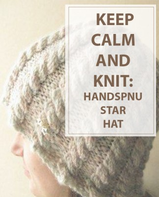 How To Knit Handspun Star Hat