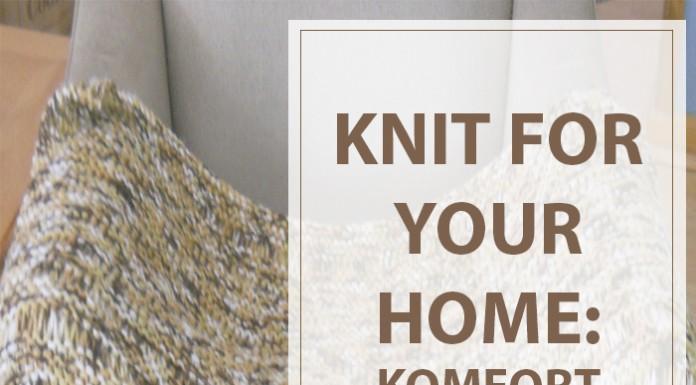 Free Knitting Pattern Komfort Kover