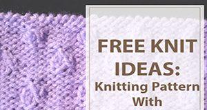 Knitting Pattern Hazel