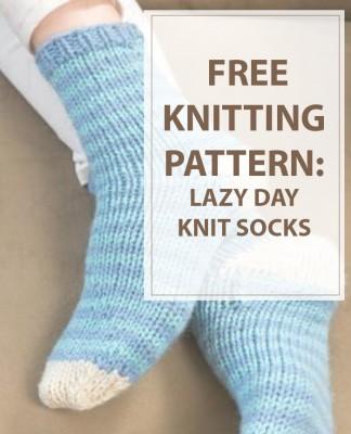 Knit Lazy Day Socks
