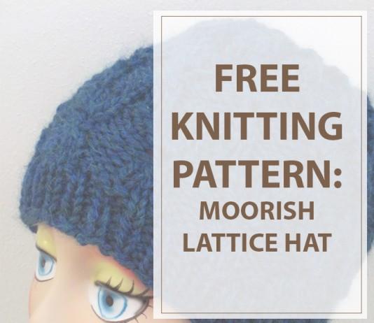 Knitted Hat Patterns Moorish Lattice