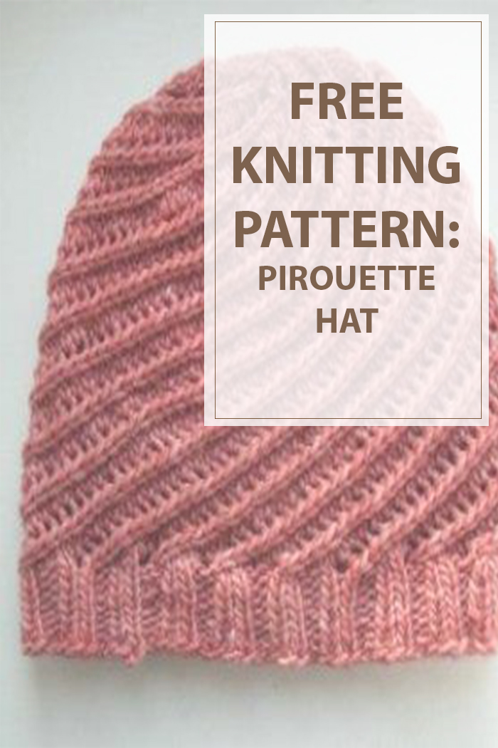 Knitted Hat Patterns (Pirouette Hat)