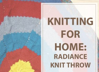 Knitted Throw Radiance
