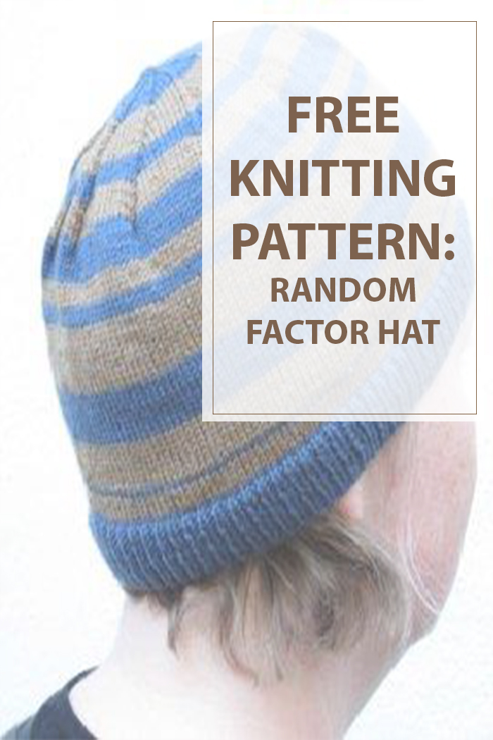 Sock Knitting Pattern Generator : Knit Instructions For The Random Factor Hat - Housewives Hobbies