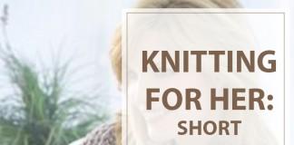 Knitting Pattern Short-Sleeved Hooded Sweater