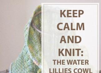 Knitting Pattern Water Lilies Cowl