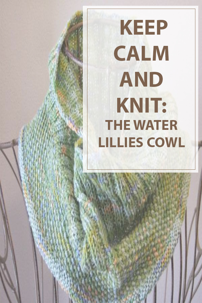 Knitting Pattern Water Lilies Cowl