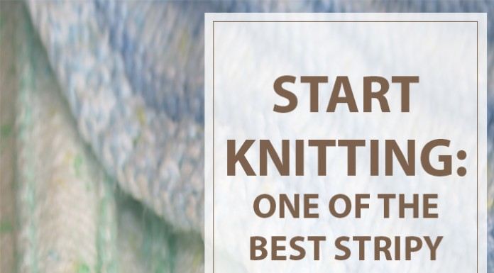 Knitting Patterns For Baby Blankets Stripy Cozy