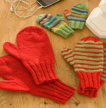 Knitting Mittens For All