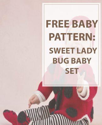 Baby Knitting Patterns Lady Bug