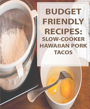 Slow-Cooker Hawaiian Pork Tacos