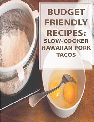 Slow-Cooker Hawaiian Pork Tacos