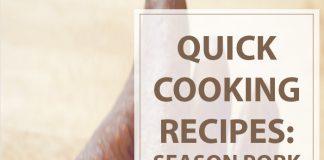 Season Pork Chops Quick Recipe