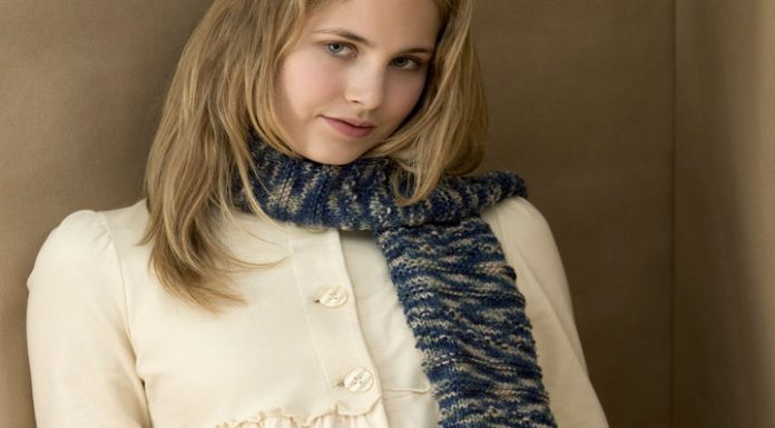 Knitting Pattern For Scarf