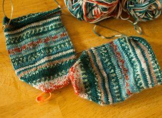 Knitting Sock Yarn