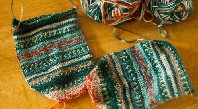 Knitting Sock Yarn