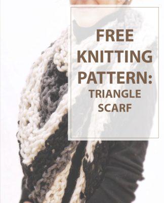 Triangle Knitting Patterns