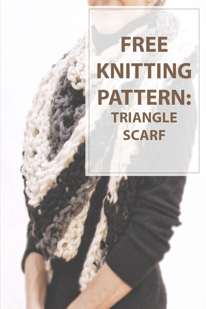 Triangle Scarf - Housewives Hobbies