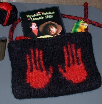 Knitting Pattern Bag