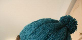 Blue Beret Knitting Pattern