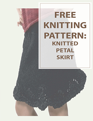 Petal Skirt Free Knitting Pattern