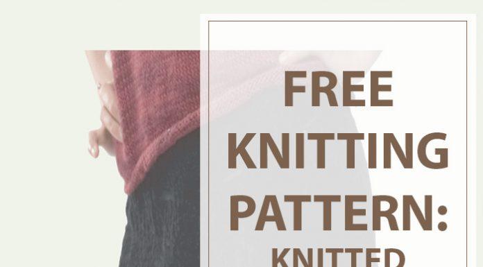 Petal Skirt Free Knitting Pattern