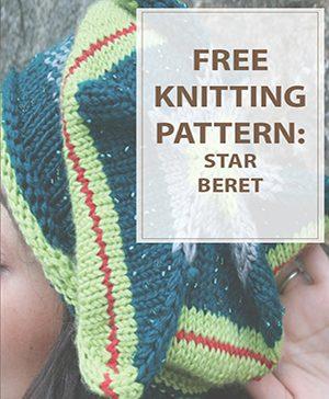 Star Beret Knitting Pattern
