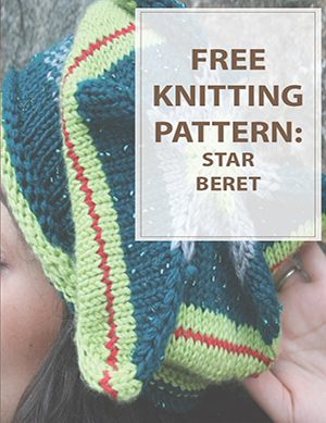 Star Beret Knitting Pattern