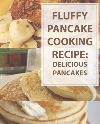 Fluffy Pancakes Cooking Recipe