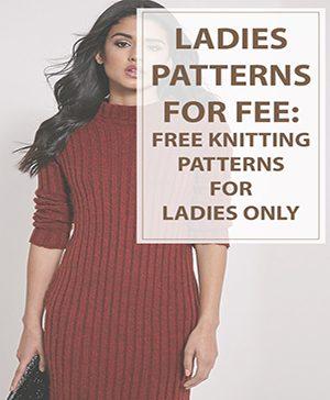 Ladies Knitting Patterns Free