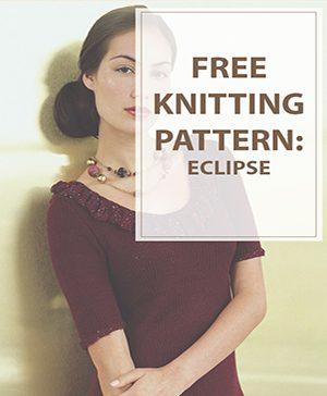 Free Knitting Pattern Eclipse