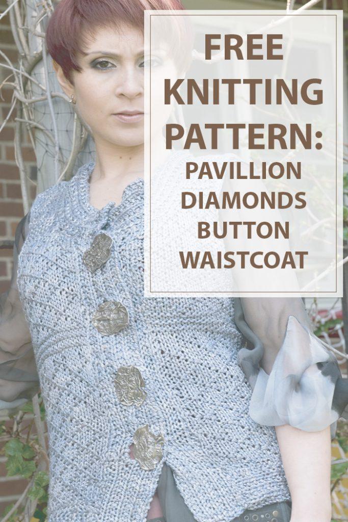 Pavillion Diamonds Button Waistcoat