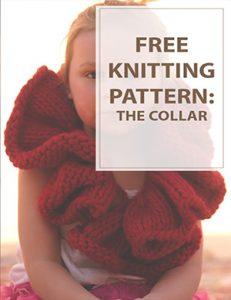 The Collar Free Knitting Pattern