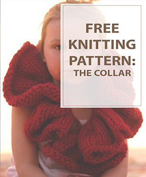 The Collar Free Knitting Pattern