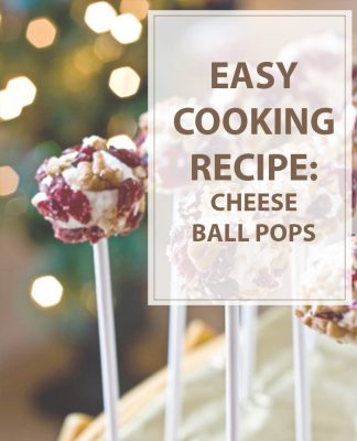 Cheese Ball Pops Cooking Recipe