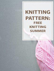 Free Summer Knitting Patterns