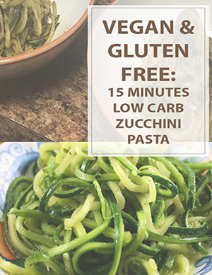 Low Carb Zucchini Pasta Cooking Recipe